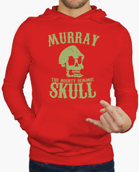 Winter real special offer cotton sweatshirt murray the mighty demon skull men s clothing hoodies novelty.jpg 250x250