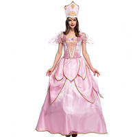 Adult Fancy Flower Fairy Cosplay Woman Halloween Queen Costume Butterfly elf Role play Carnival Christmas Masquerade Party dress