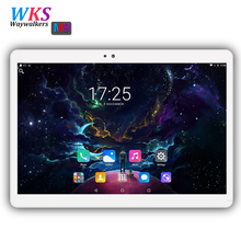 Free shipping 10.1 Inch 3G 4G Lte Android 7.0 Octa Core Tablets PC MTK 4GB RAM 32/64GB ROM WIFI Bluetooth 1920*1200 IPS tablets