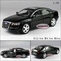 Candice guo! nueva llegada Kinsmart mini super cool 1:38 AUDI A6 coche aleación modelo de juguete coche 1 unid