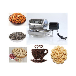 110V/220V family use drum coffee bean roaster groundnut cashew baking machine dried fruit roasting machine