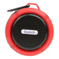 Mini C6 Wireless Portable Waterproof Bluetooth Speaker Mic Suction Cup TF Slot