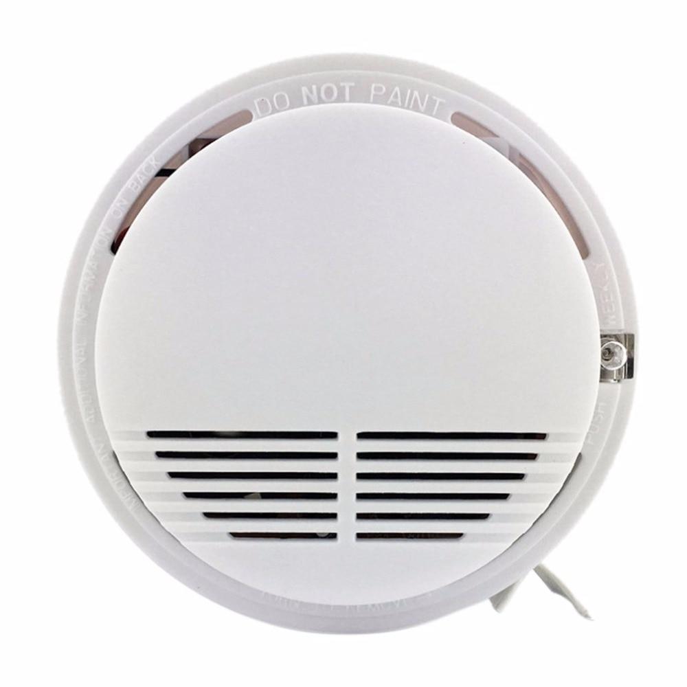 Brandschutz FleißIg Photoelektrische Rauchen Detektor Alarm Mehr Als 85db Alarm Unabhängige Feuer Rauch Sensor Für Home Security Mit 9 V Batterien StraßEnpreis Sicherheit & Schutz