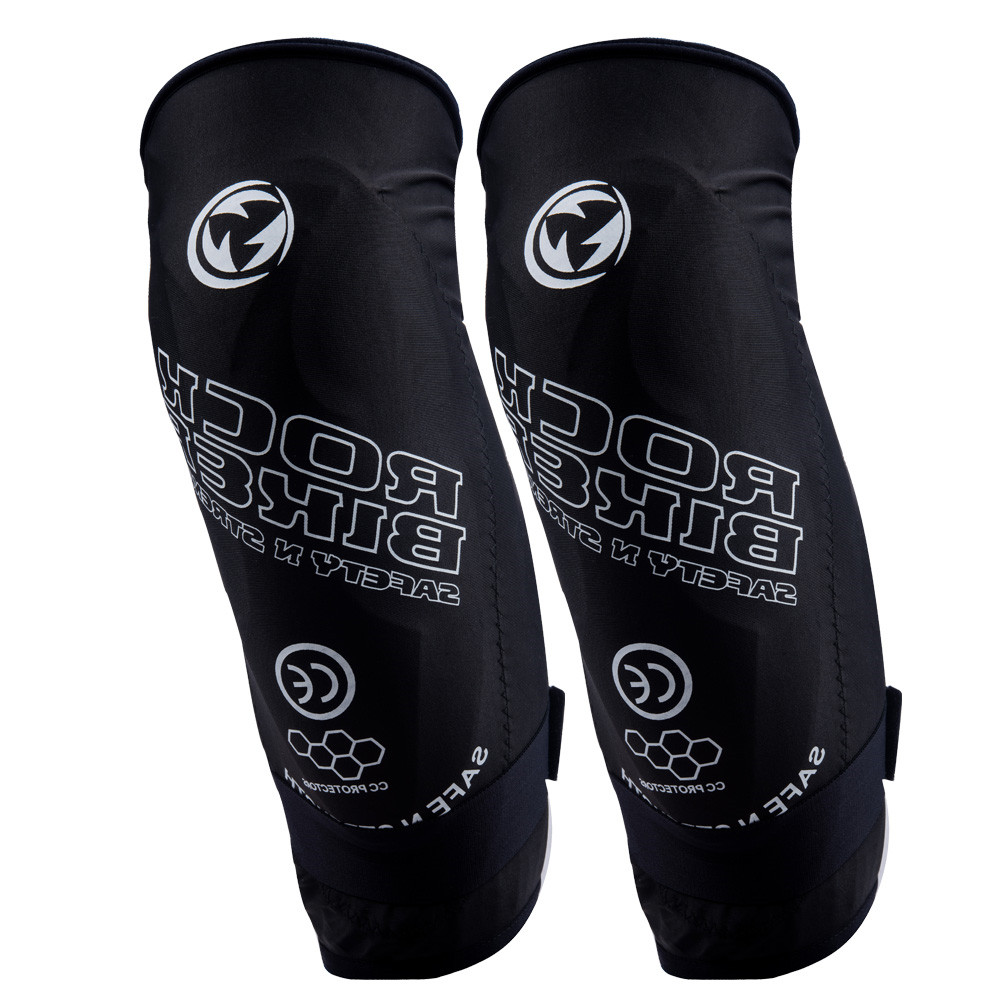 2019 Rock Biker Motorcycle Knee Pads Soft Knee Protector Protective Guards Moto Knee Brace Support Mtb Ski Protective Gear Black