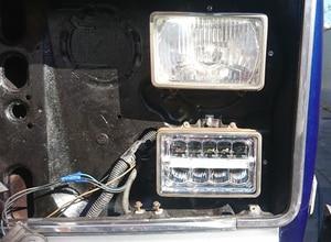 Image 5 - 4 4X6 Inch LED Chữ Nhật Đèn Pha Cho Xe Chevrolet Peterbilt 379 Buick Electra Freightliner FLD120