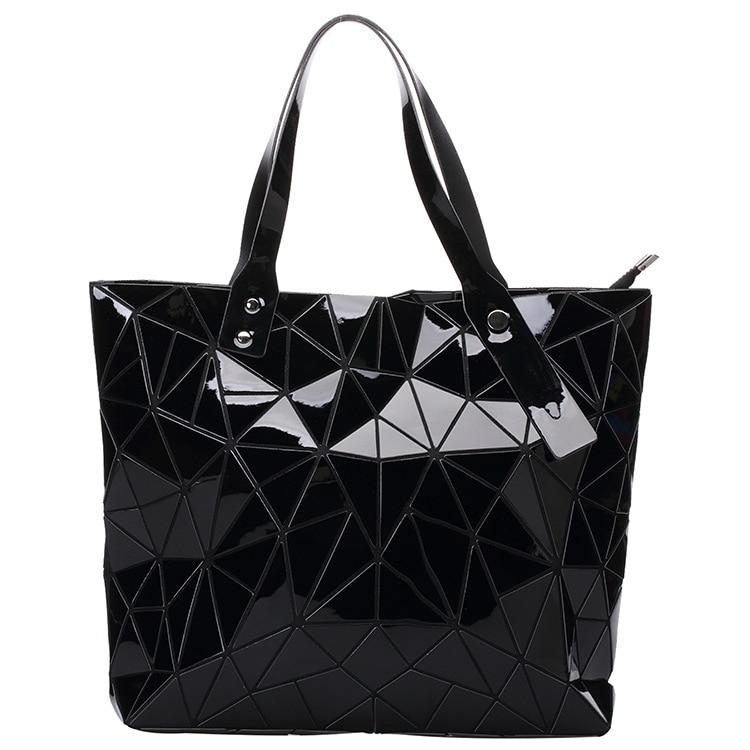 Bao Plaid láser geométrica plegable moda bolsos bolso 2018 femenino ZqpdFxPPw