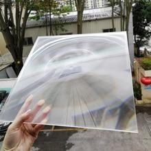 Прямая солнечные линзы 150*150 мм FL 140/160/190 мм PMMA квадратные линзы Френеля