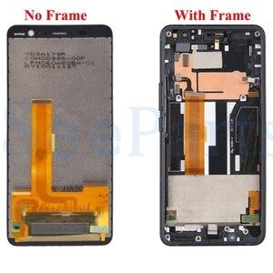 Image 2 - 100% Test pour HTC U11 + u11 Plus LCD avec cadre affichage écran tactile numériseur assemblée pièces de rechange pour HTC U11 + lcd