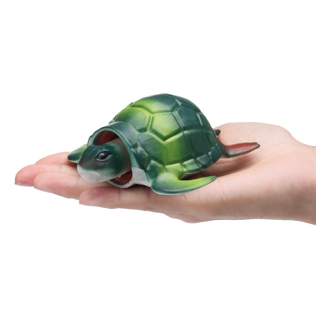 Turtle Pop Out Head if Squeeze 13cm Stress Ball (3 Colors) 21
