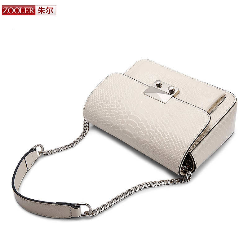 ZOOLER serpentine pattern Bags handbags women famous brand women messenger bag lady cross body elegant chain bolsa feminina#B135 ...