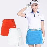 Tennis Skirt Sportswear Woman Pantskirt Lining Safety Lady Wrinkle Zipper Culottes Summer Tennis Divided Shorts