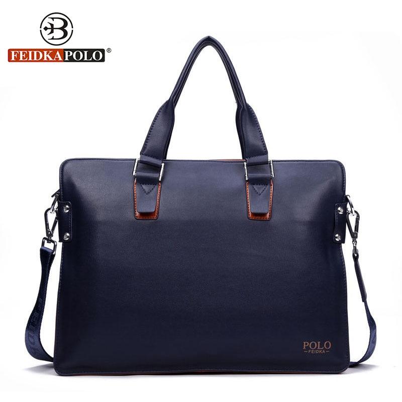 Famous Brand Bag Men Handbags Leather Briefcase Fashion Shoulder Bags Vintage Crossbody Satchel Man Tote Bag Men Messenger Bags