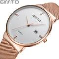 Fashion Gold Silver Men Watch Luxury Brand Male Stainless Steel Quartz Wrist Watch Men Clock relojes hombre Relogio Masculino