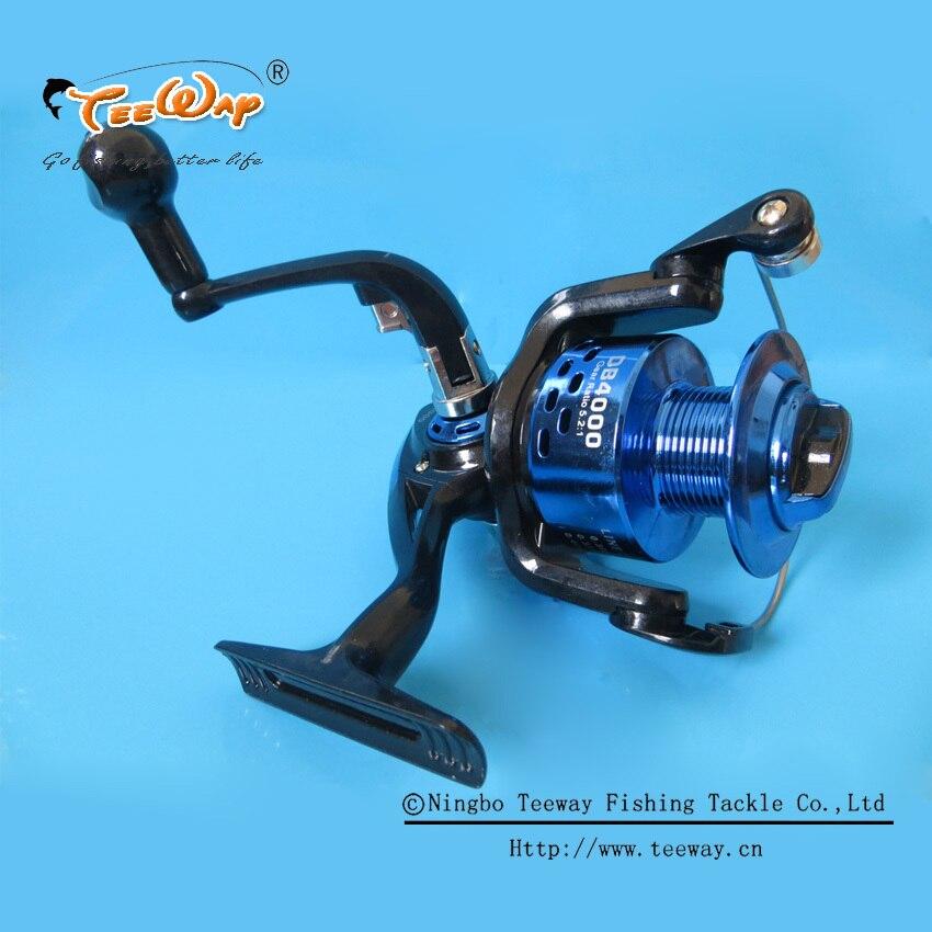 DB-4000 Teeway Brand Spinning Fishing Reels Carp Ice Fishing Gear 5.2:1 Real 3BB Spool fishing tackle