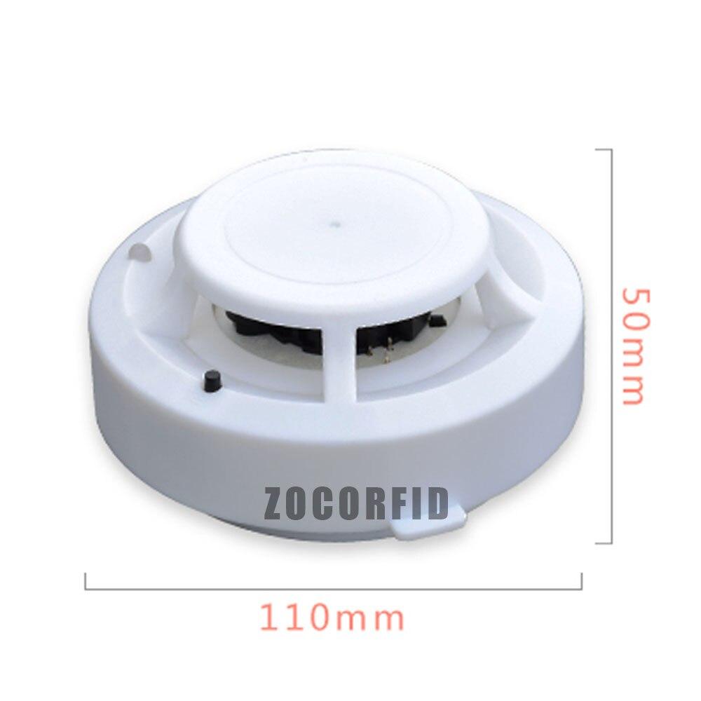 5 unids/lote independiente alarma de incendio cigarrillo Detectores ...