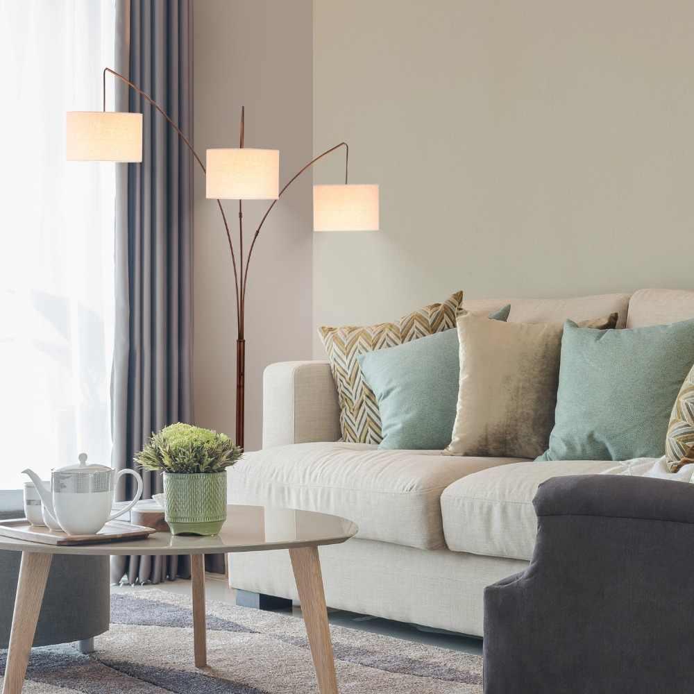 Wohnzimmer Mit Freistehender Couch Ikea Hack Cheap And Easy Sofa