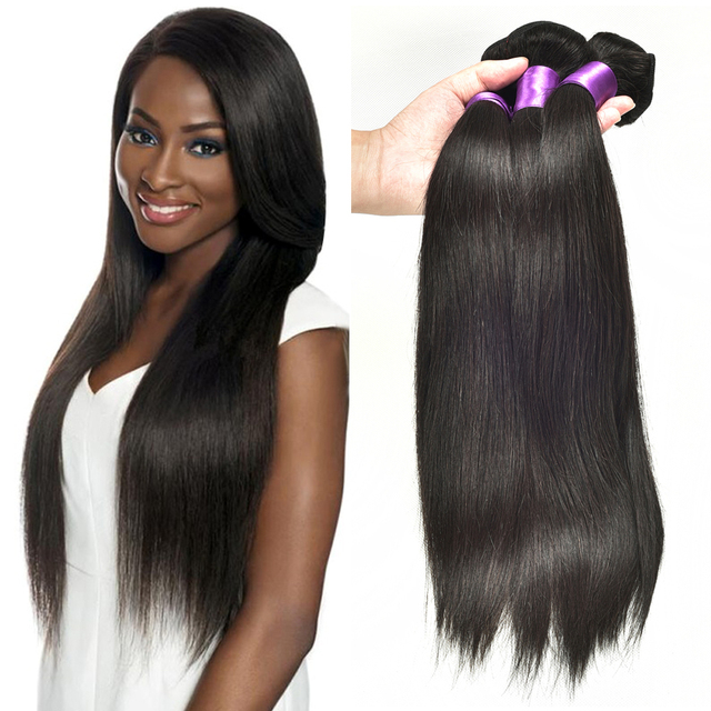 Prom Rosa Hair 4 Bundles Malaysian Straight Human Weave True Glory