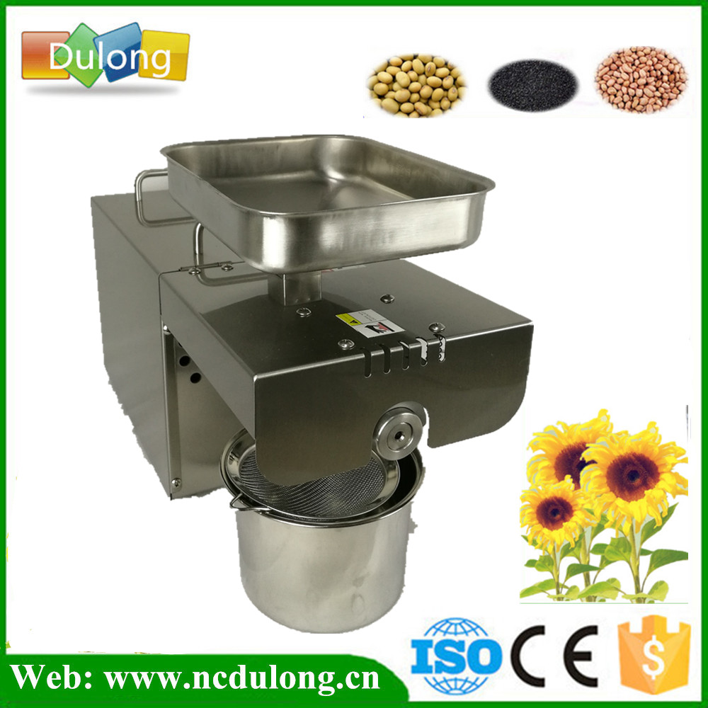 Stainless Steel Small Home Oil Press Machine Cold press for peanut coconut