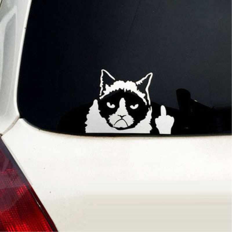 Detail Feedback Questions about Cartoon fun reflective car sticker