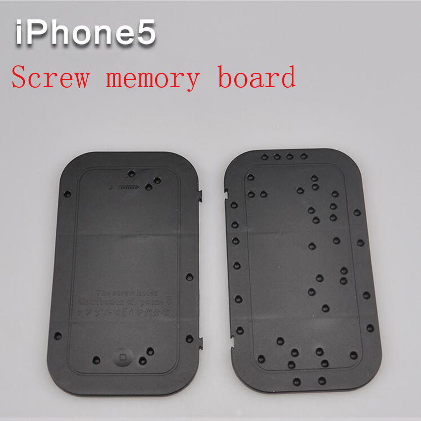 3PC.set iphone5 Screw memory board Position board Disassemble maintenance tool distribution positioning plate for iPhone