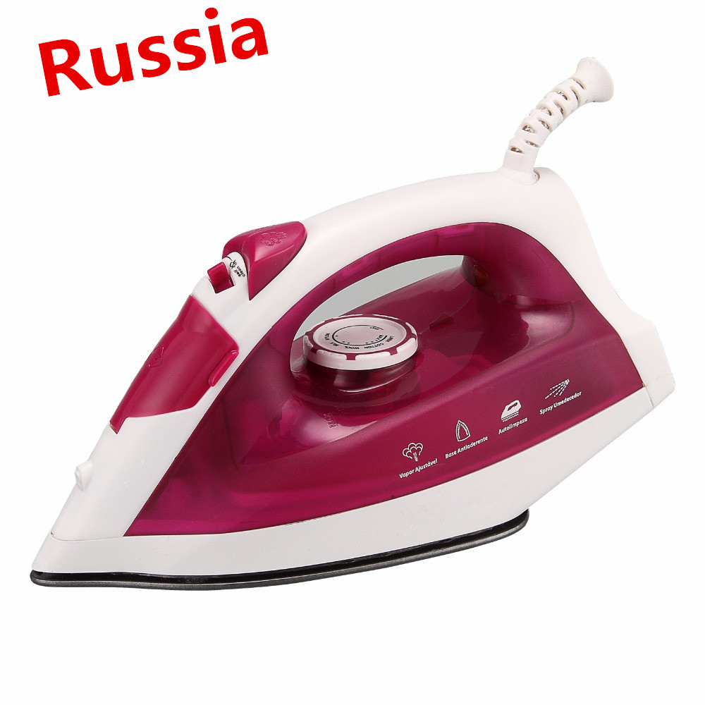 Household Electric Steam Iron Clothes Adjustable Soldering Wire Iron Steamer Mechanical Timer Control Ceramic 220V gakuen polizi vol 1