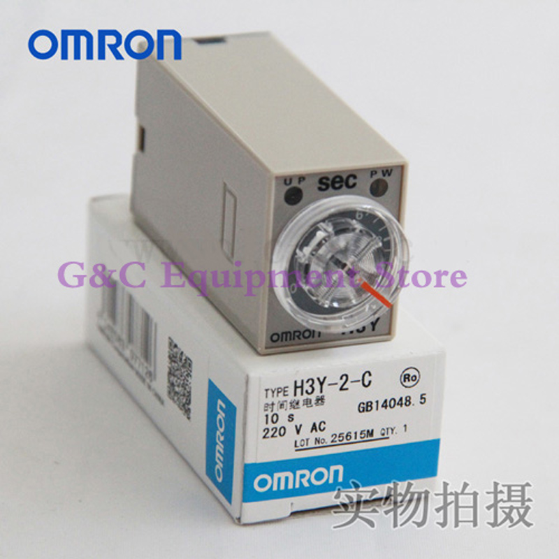 Omron timer h3y on