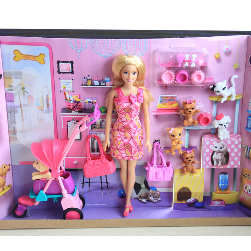 Authentic Barbie Doll Toys Princess Barbie Home Garments Gown Bed room furnishings Equipment Set Birthday Items Toys For Ladies
