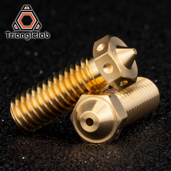 trianglelab 1PC Top quality brass volcano Nozzle for 3D printers hotend E3D  M6 Extruder - discount item  5% OFF Office Electronics
