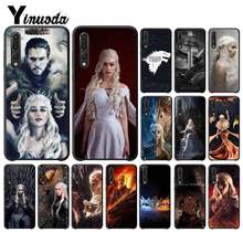 Jogo Yinuoda ofThrones Emilia Clarke DIY Caixa Do Telefone de Luxo para Huawei P9 P10 Plus Mate9 10 Mate10 P20 Lite Pro honor10 View10(China)