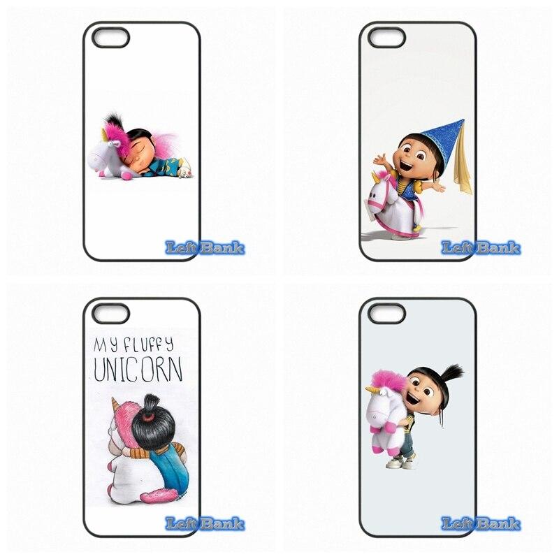 My Unicorn Agnes Hard Phone Case Cover For Samsung Galaxy S S2 S3 S4 S5 MINI S6 S7 edge Plus Note 2 3 4 5