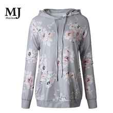 Moleton Feminino Inverno X052 Maijee Ladies Hoodie Outerwear Sleeve 2019 Spring And Autumn Long-sleeved Womens Sweatshirt Coat