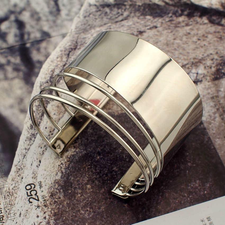 Graceful women cuff bangles fashion accessories 4