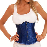 Women Sexy Corselet 3105 Overbust Lace Corset Top Bustier Waist Training Corsets