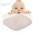 Bebê recém-nascido moldar travesseiro pescoço travesseiros protector segurança infantil anti rolo sono cabeça posicionador prevenção de almofada