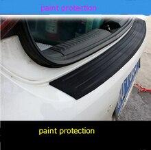 font b Car b font trunk bumper trim rear guard plate modified protective strip For