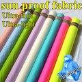 Ultra-delgado y Super ligero protector solar 15D Nylon Tafetán Tela Ancho 150 cm Para La Ropa Transparente Chaqueta Lycra DIY de Coser