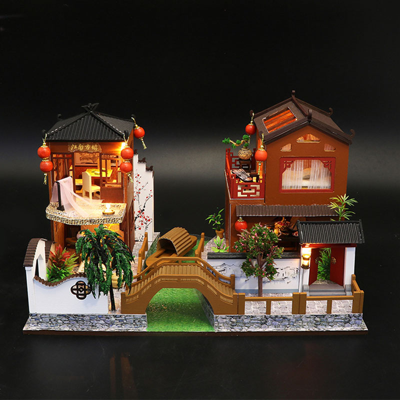 Poems & Dreams DIY 3D Miniature Dollhouse Kit