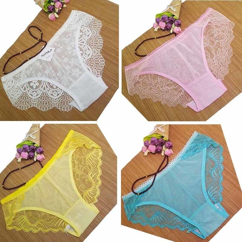 5XL 4XL BIG SIZE women temperament sexy underwear ladies panties lingerie bikini underwear pants thong intimatewear zhx85 12pcs