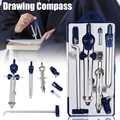 Professionelle Einstellbare Präzision Zeichnung Kompass Set für Schule Büro Bau Engineering Ausarbeitung Schreibwaren Werkzeuge