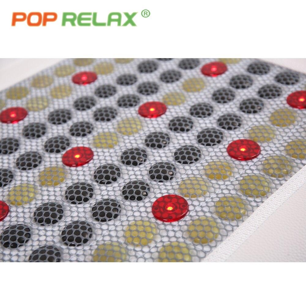 POP RELAX Korea kvalitet VLF helse madrass jade turmalin LED foton - Helsevesen - Bilde 4