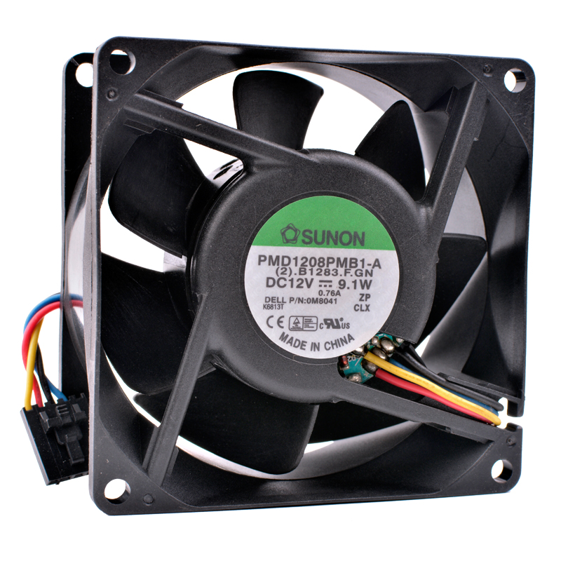 COOLING REVOLUTION PMD1208PMB1-A 8cm 80mm fan 8038 12V 9.1W Double ball bearing server large air volume cooling fan