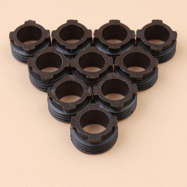 10 pièces pompe à huile dengrenage à vis sans fin pour HUSQVARNA 61 66 162 266 268 272 272XP tronçonneuse #501513801