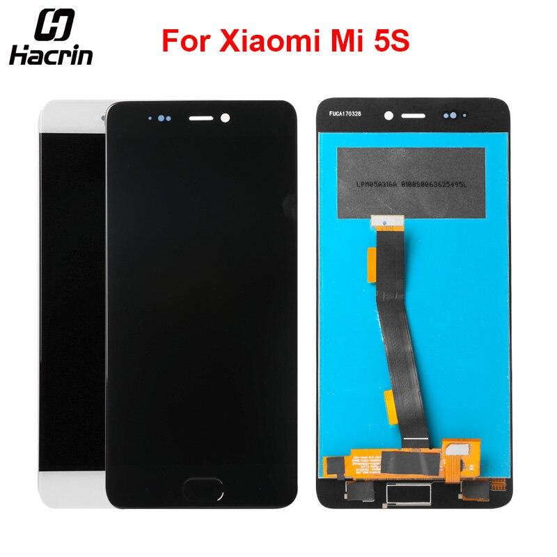 Hacrin Pour Xiao mi mi 5S LCD Display + Écran Tactile En Verre Panneau Nouveau Digitizer Assemblée Remplacement Pour 5.15 pouce xiao mi mi 5S