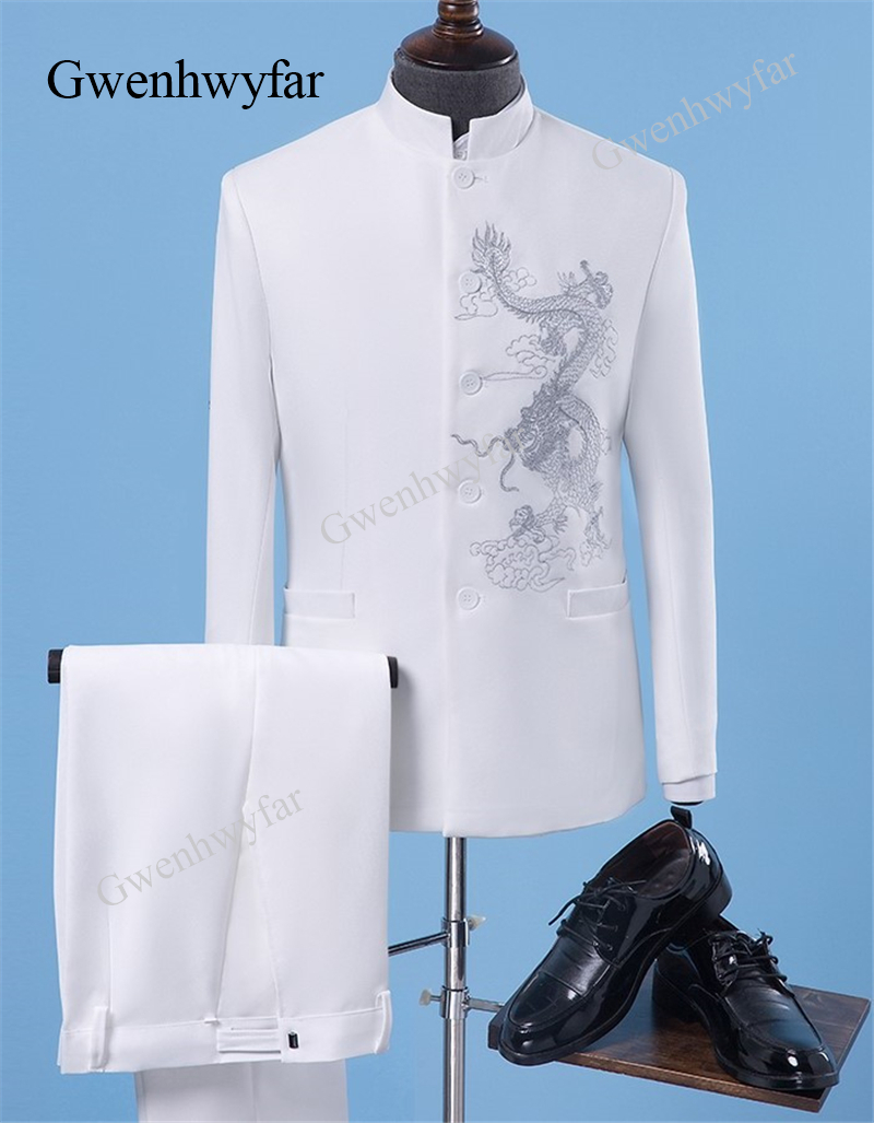 Navy Blue Silk Wool Blend Wedding Tuxedos For Men Tailor Made Groom Tuxedo Comfortable For Dancing