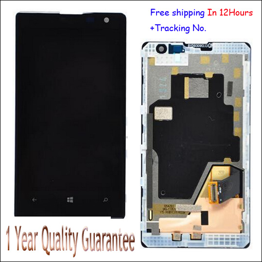 ФОТО In Stock!!100% Original LCD Display Touch Screen Digitizer With Frame Assembly For Nokia Lumia 1020 LCD Test ok+Tracking Number
