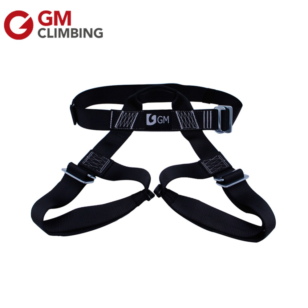 Safety Climbing Harness Outdoor S Size Half Body Rock Climbing Mountaineering Rappelling Belt Harness Zipline Arborist Rescue
