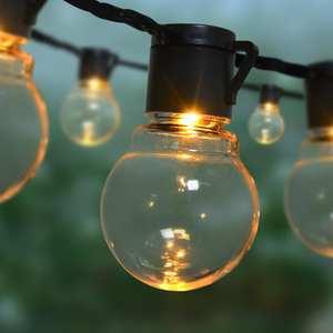 Bulb Lantern String-Light Lawn-Lamp Globe Christmas-Decor Landscape Yard Led Garden Outdoor