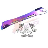 Xpower-asr neo chrome rear brace subframe para honda civic 1992 1993 1994 1995 eg eg6