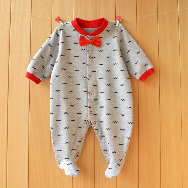 17 New spring cartoon baby rompers cotton 100% girls and boys clothes long sleeve romper Baby Jumpsuit newborn baby Clothing 14