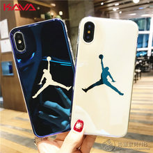 f3911b8b902 New Silicone Case for Coque iPhone X 10 iPhoneX Michael Jordan Air 23  Basketball Cover for